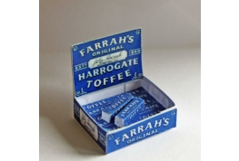 1:12 Scale Counter Display Box Of Harrogate Toffees