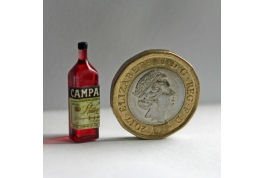 1:12 Scale Square Aperitif Bottle