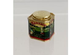 1:12 Scale Radiance Toffee advertising Tin