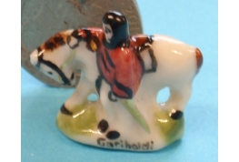 China Figure of Garibaldi Ornament