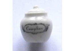 Camphor Display Jar