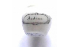 Iodine Display Jar
