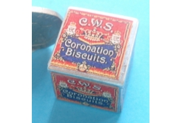 "Tin of C.W.S. ""Coronation"" Biscuits"