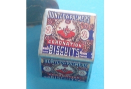 "Tin of Huntley & Palmers ""Coronation"" Biscuits"
