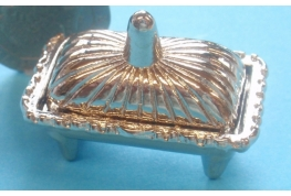 Silver Footed Chafing or Warming  Dish