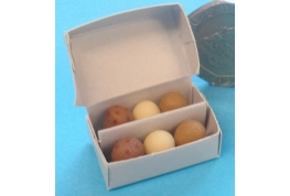 Box of 6  Large Fresh Eggs.