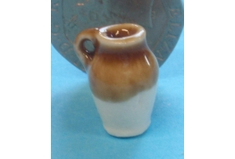 24th Scale  Jug - Half Glazed