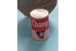 Champ Dog Food Tin