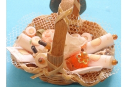 Toiletry Basket - Peach