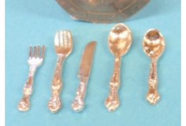 5pc Cutlery Place Setting
