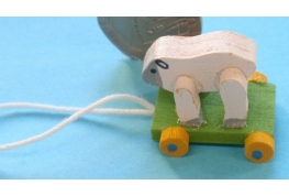 Wooden Sheep Pull-Along Toy