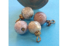 Christmas Tree Baubles - Set of 3