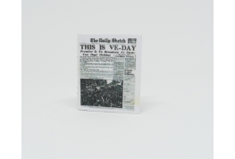 24th  VE Day War Edition newspaper