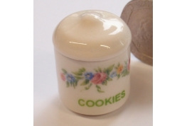 China Cookie Jar Country English Pattern