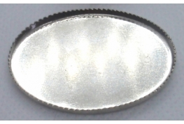 Oval Silver  Serving Tray - Large