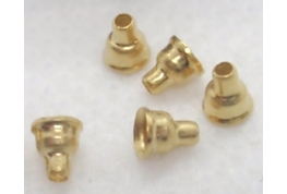 Micro Funnel Flange - Gold Plated