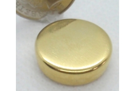 Gold Plated Tin - 14mm