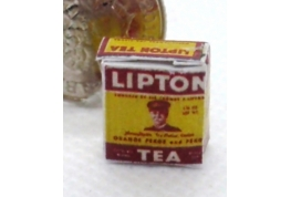 Early Packet of Lipton Tea