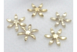 Gold Flower Setting - 8mm dia