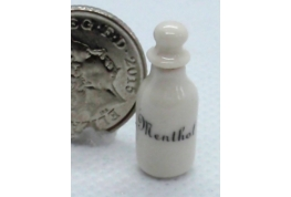 White China Flask - Menthol
