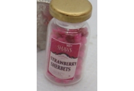 Sweet Shop Jar of  Strawberry Sherbets