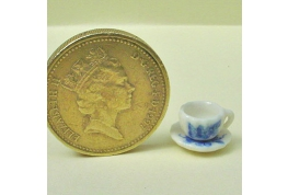 12th Scale Flutted Cup And Saucer