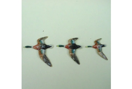 1:12 Scale Set Of China Flying Ducks