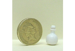 White China Oil Bottle