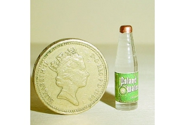 12th Scale Glass Spring Water Bottle