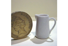 1:12 Scale White China Jug 15mm
