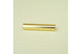 Gold Plated Tube Beads