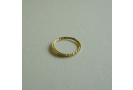 Gold Plated Decorative Ring
