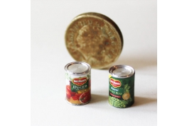 2 Grocery Tins