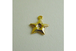 Gold Efffect Star