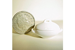 White China Vegetable Tureen