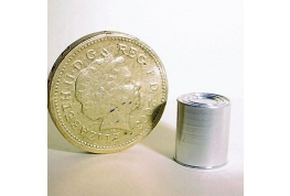 Blank Aluminium food Tin 12 x 8mm