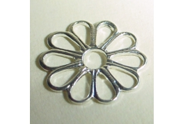 Small Silver Colour Flower Setting