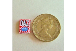 24th scale Daz Washing Powder Packet