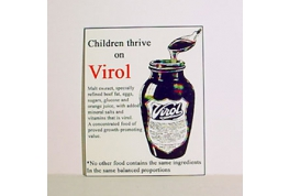 Virol Advertising Sign