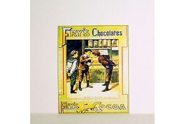 Fry's Chocolate Advertising Sign.