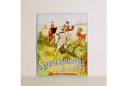 Stevenson Biscuits Advertising Sign