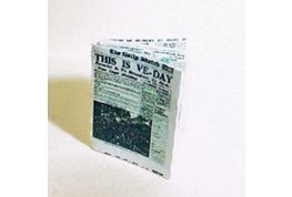 24th Scale VE Day War Edition News paper