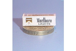 1:12 Scale Marlboro Lights Cigerettes Carton
