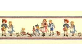 24th Scale Nursery Wallpaper Border,