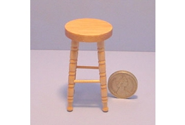 1:12 Scale Pine Stool