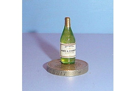 1:12 Scale Champagne Bottle