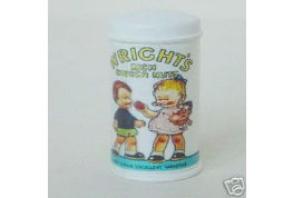 Wrights Ginger nut Biscuit Tin