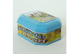 1:12 Scale Stevenson Co Biscuit Tin