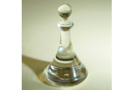 12th Scale Dollhouse Solid Glass Ships Decanter