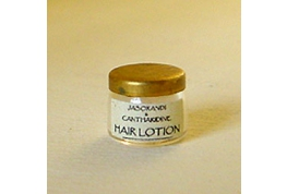 1:112 Scale British Made Hair Lotion Jar